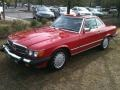 Front 3/4 View of 1988 SL Class 560 SL Roadster