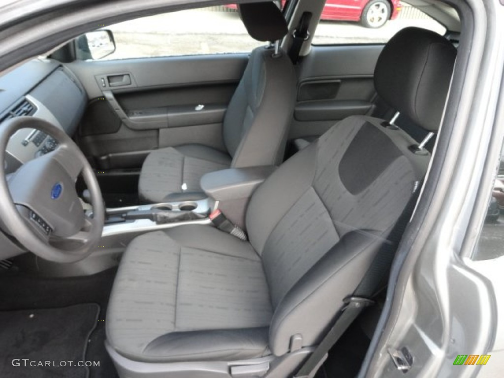 Charcoal Black Interior 2008 Ford Focus Se Coupe Photo 59822141