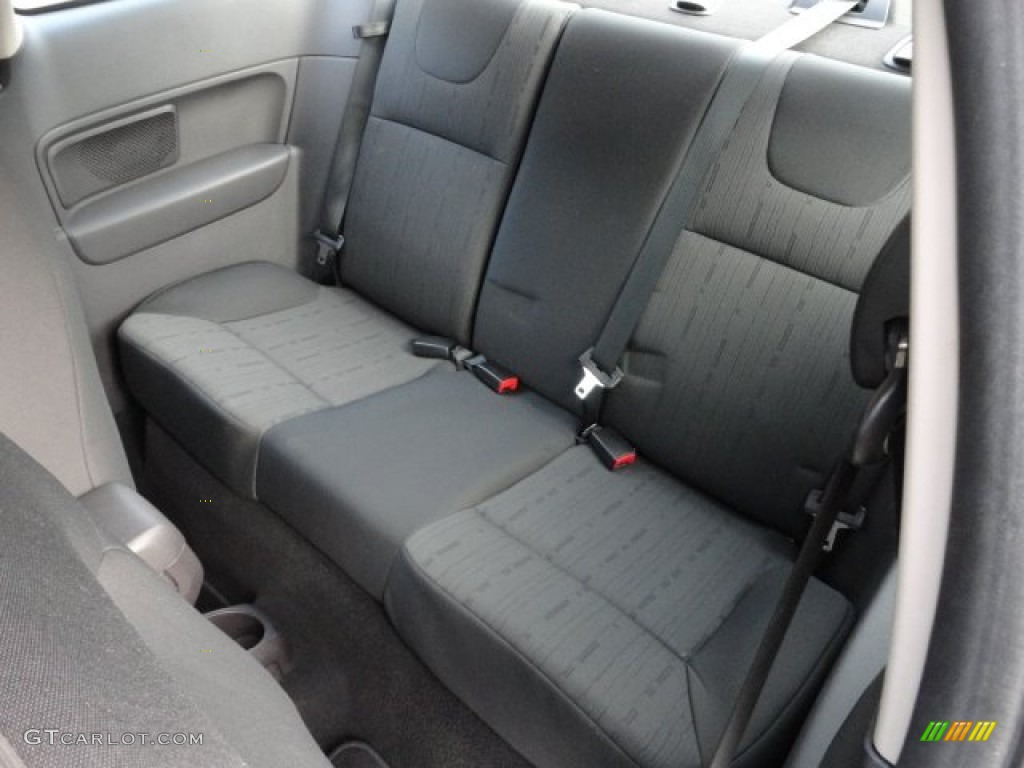 Charcoal Black Interior 2008 Ford Focus Se Coupe Photo 59822149