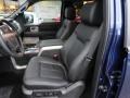 2012 F150 Lariat SuperCrew 4x4 Black Interior