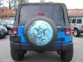 2011 Cosmos Blue Jeep Wrangler Sport 4x4  photo #5