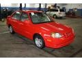 Retro Red 2003 Hyundai Accent GL Sedan