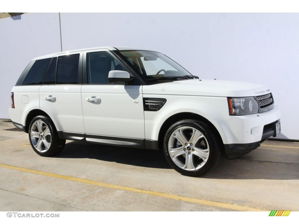 fuji white 2012 land rover range rover sport hse lux. Black Bedroom Furniture Sets. Home Design Ideas