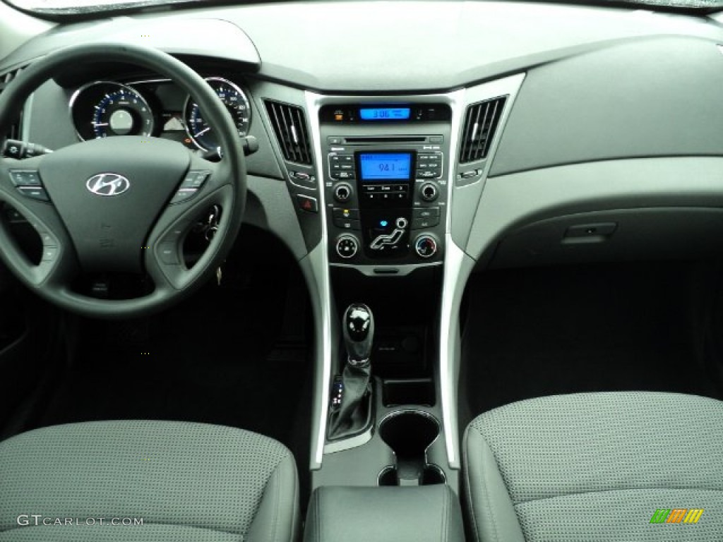 2011 Hyundai Sonata Gls Gray Dashboard Photo 59839440