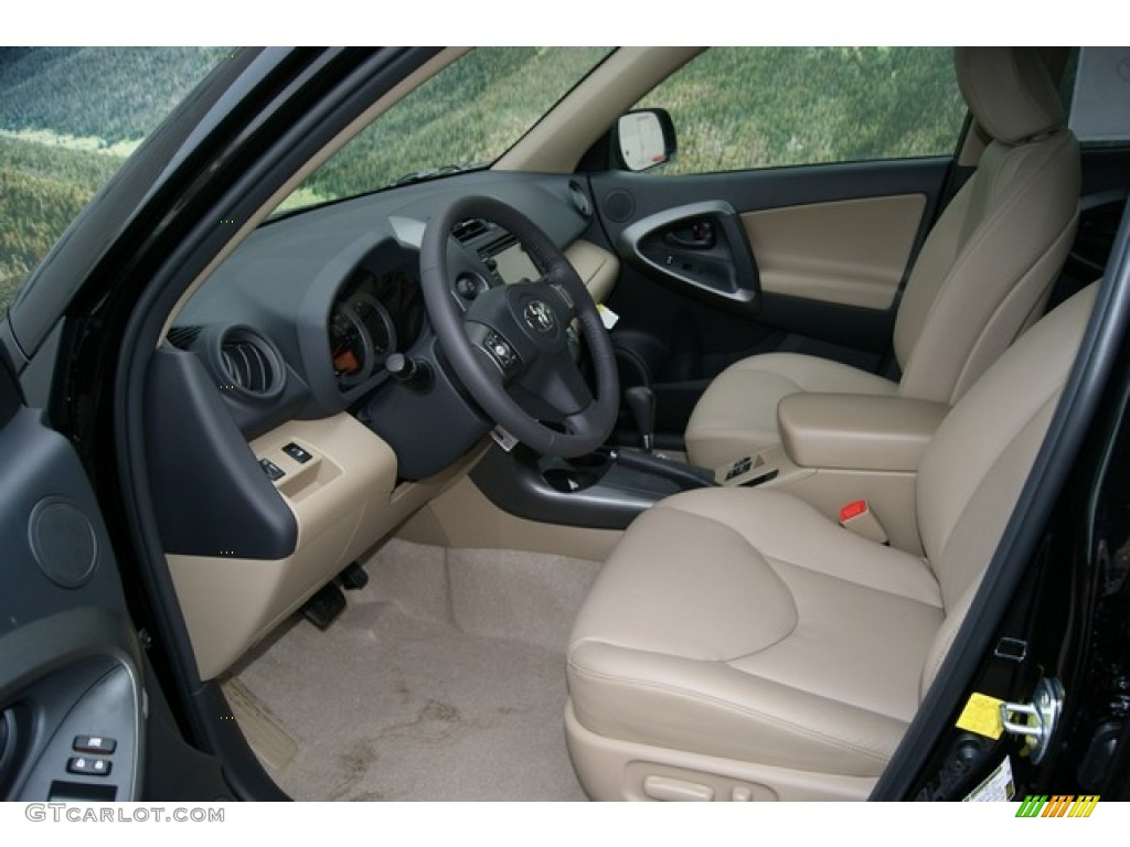 sand beige interior 2012 toyota rav4 v6 limited 4wd photo 59839443. Black Bedroom Furniture Sets. Home Design Ideas