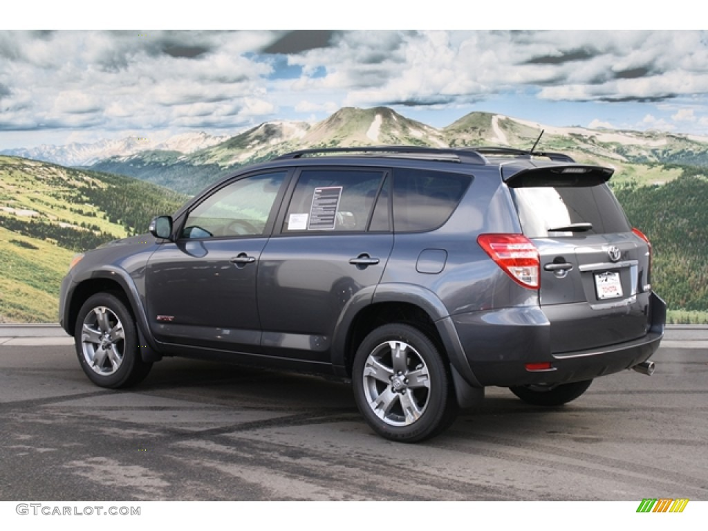 2011 magnetic gray metallic toyota rav4 sport 4wd 59797042 photo 3 car color. Black Bedroom Furniture Sets. Home Design Ideas
