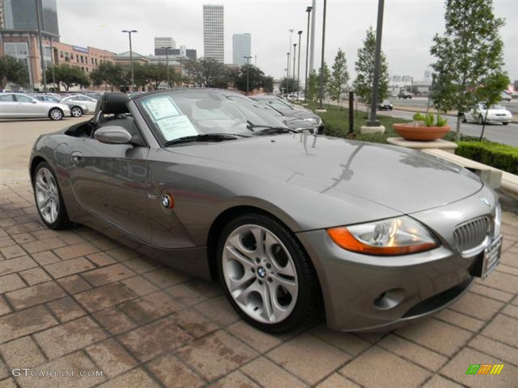 Sterling Gray Metallic 2004 Bmw Z4 3 0i Roadster Exterior