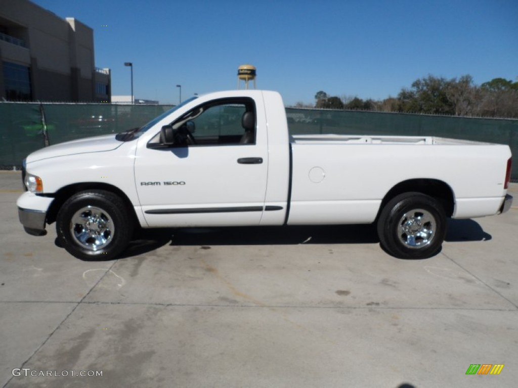 bright white 2005 dodge ram 1500 st regular cab exterior photo 59843505. Black Bedroom Furniture Sets. Home Design Ideas