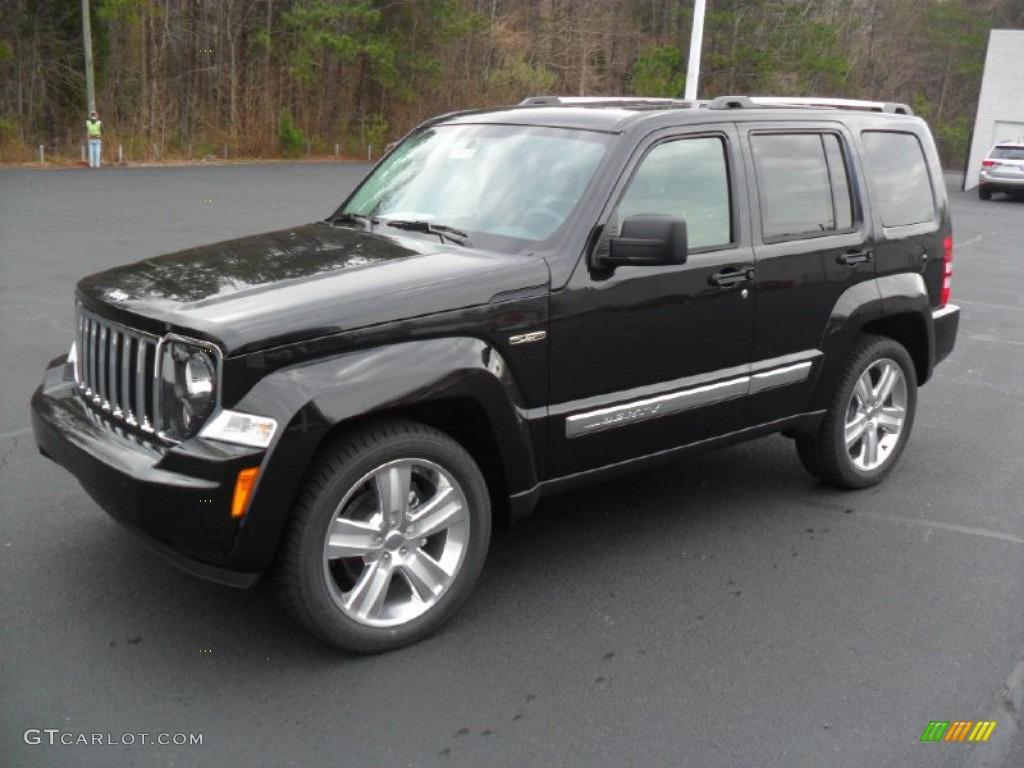 Brilliant black crystal pearl jeep liberty