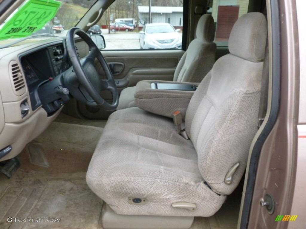 Neutral Interior 1997 Gmc Sierra 1500 Sle Extended Cab 4x4 Photo 59853088