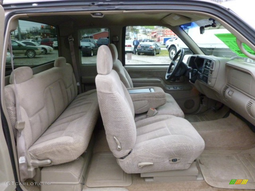 Neutral Interior 1997 Gmc Sierra 1500 Sle Extended Cab 4x4 Photo 59853133 Gtcarlot Com