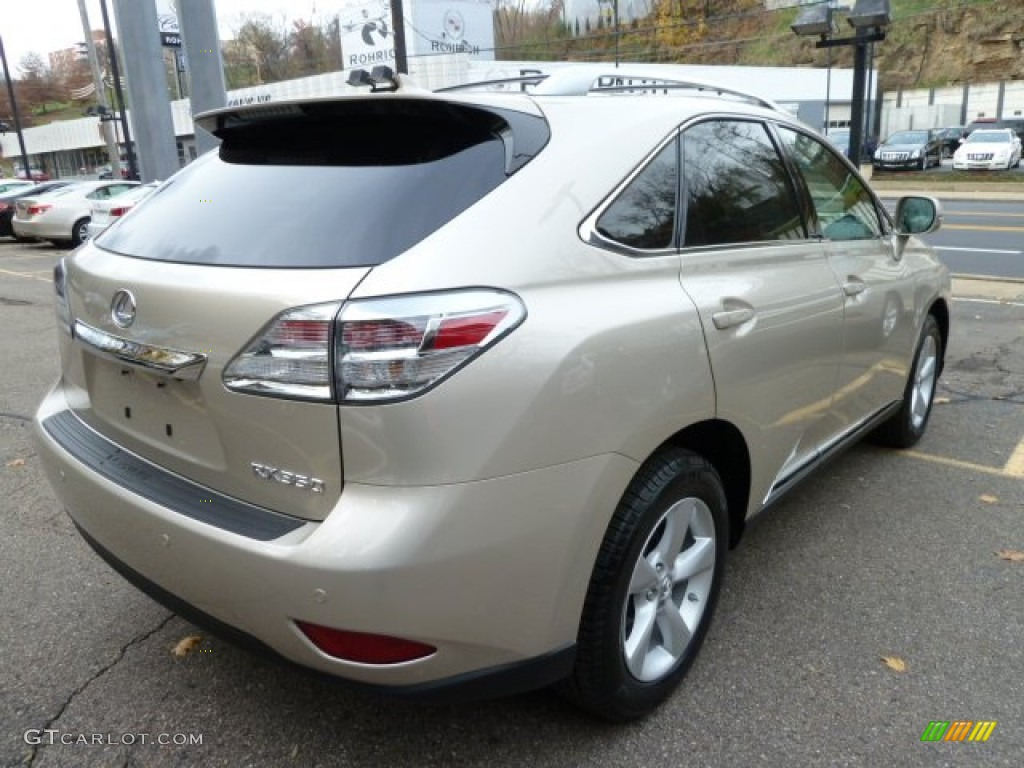 Satin Cashmere Metallic 2012 Lexus Rx 350 Awd Exterior Photo 59856304