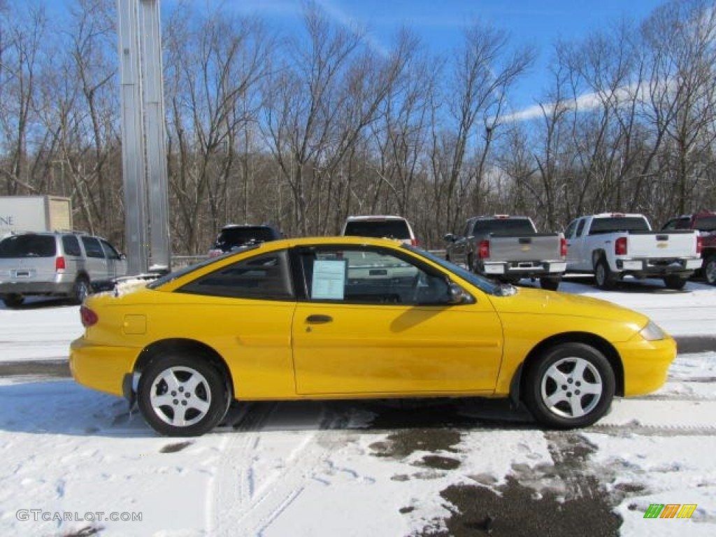 Yellow 2003 chevrolet cavalier ls coupe exterior photo for 2003 cavalier window motor