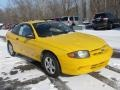 Yellow 2003 Chevrolet Cavalier LS Coupe Exterior