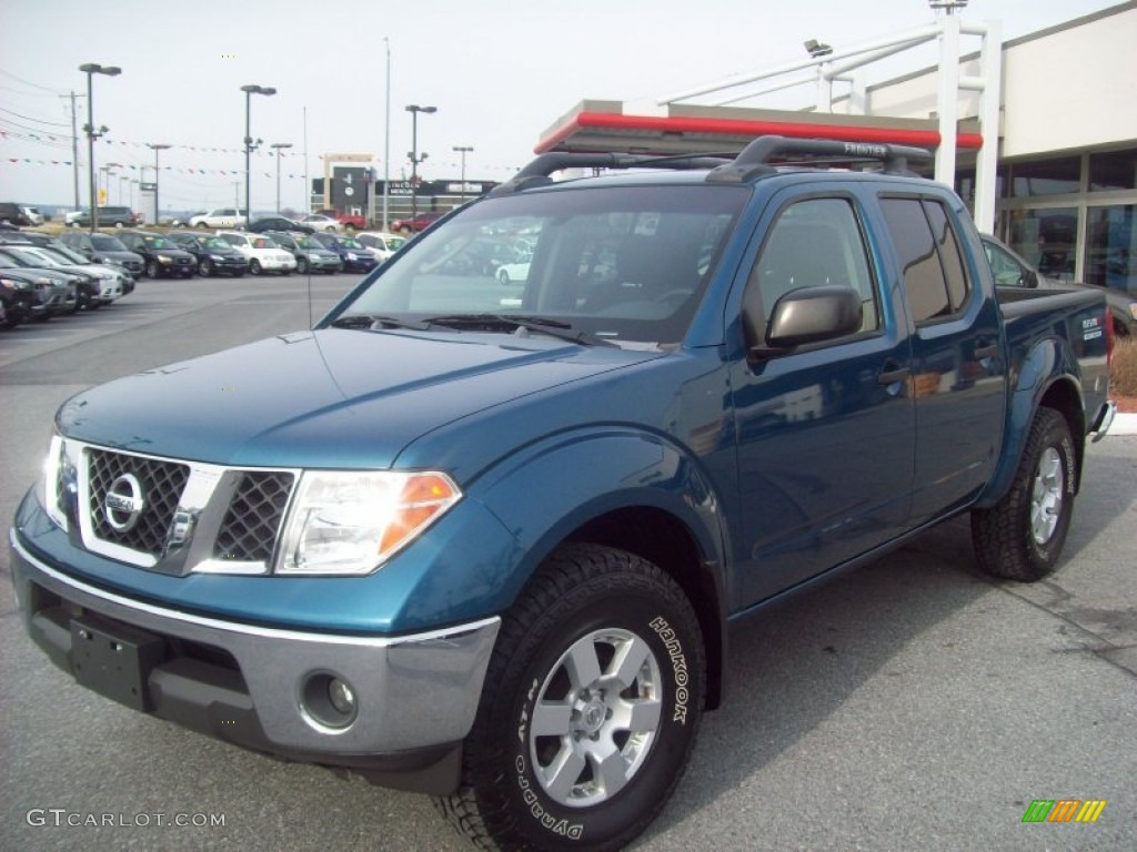 2005 electric blue metallic nissan frontier nismo crew cab. Black Bedroom Furniture Sets. Home Design Ideas