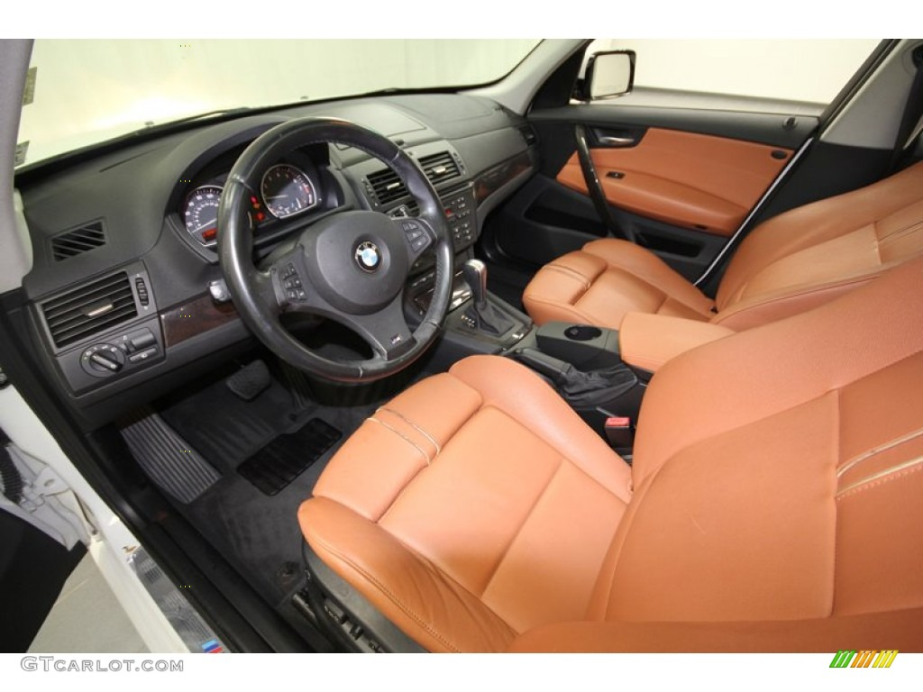 saddle brown interior 2007 bmw x3 photo 59883320. Black Bedroom Furniture Sets. Home Design Ideas