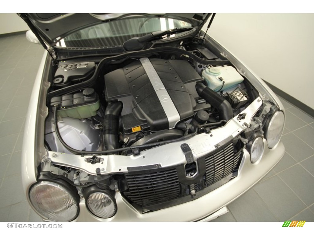 2002 mercedes benz clk 430 coupe 4 3 liter sohc 24 valve for Mercedes benz v8 engines