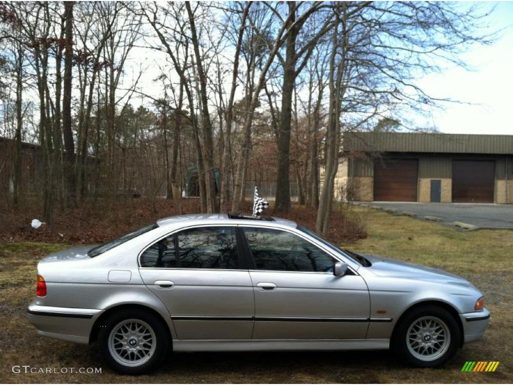 Titanium silver metallic 1999 bmw 5 series 528i sedan exterior photo 59886539
