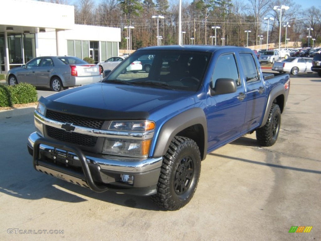 Superior blue metallic chevrolet colorado