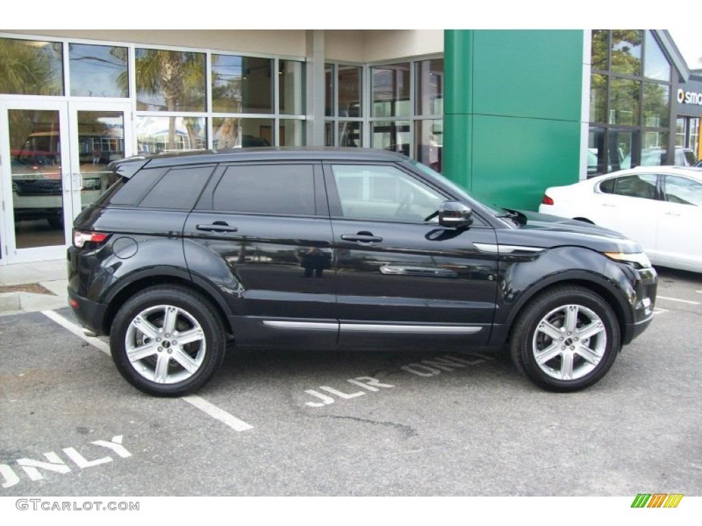 Barolo Black Premium Metallic 2012 Land Rover Range Rover Evoque Pure Exterior Photo 59899262