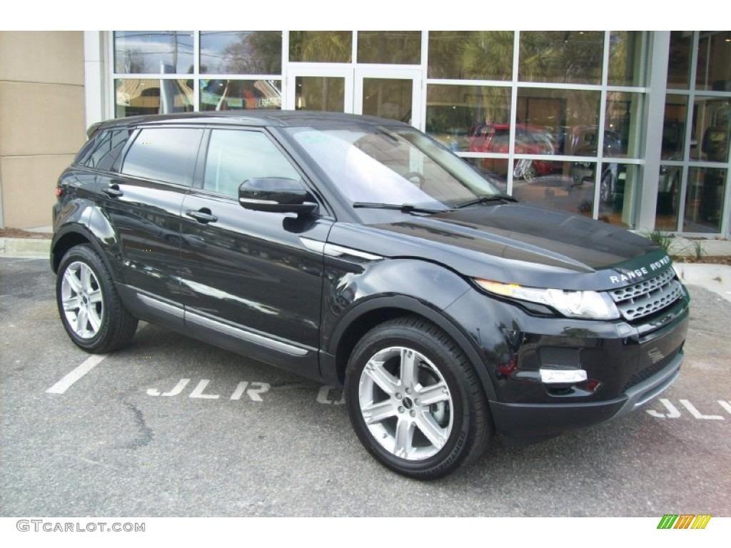 Barolo Black Premium Metallic 2012 Land Rover Range Rover Evoque Pure Exterior Photo 59899271