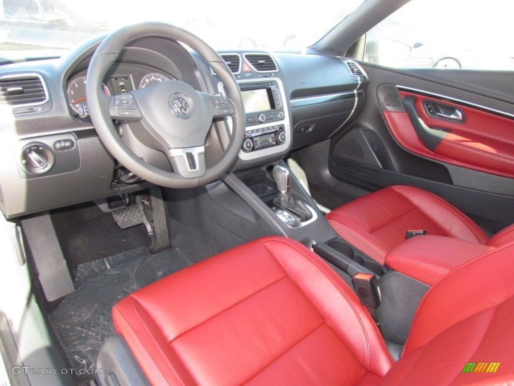 red interior 2012 volkswagen eos lux photo 59902634. Black Bedroom Furniture Sets. Home Design Ideas