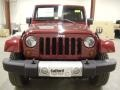2012 Deep Cherry Red Crystal Pearl Jeep Wrangler Sahara 4x4  photo #8