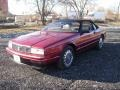 Pearl Red 1993 Cadillac Allante Convertible