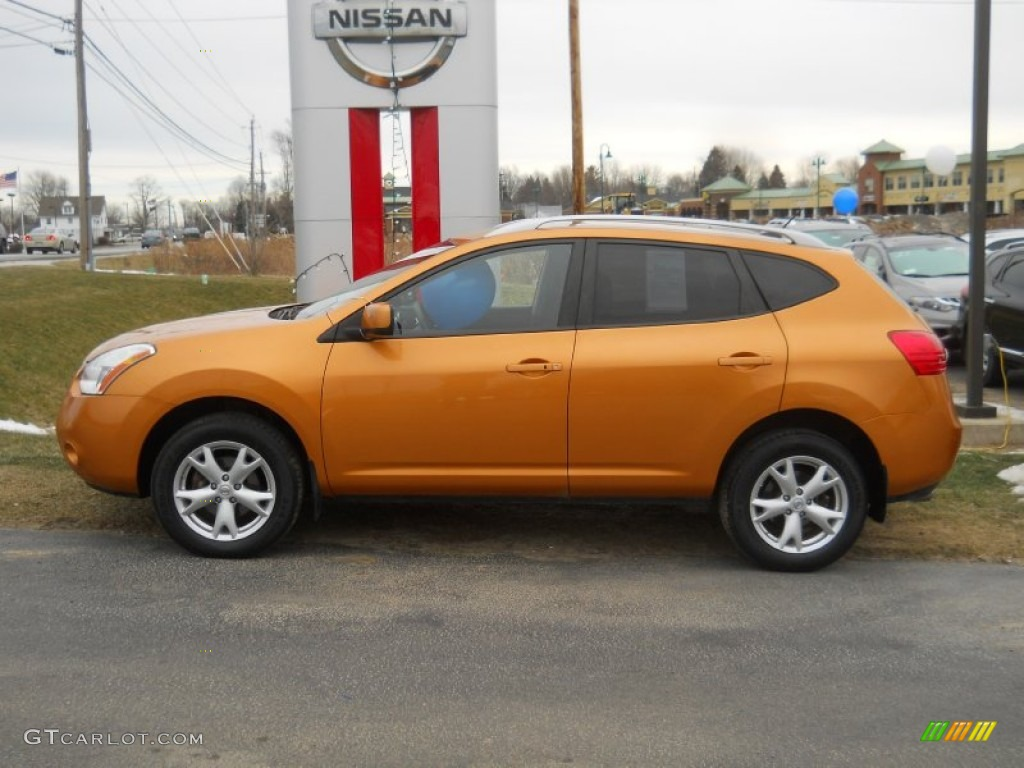 Orange alloy metallic 2008 nissan rogue sl awd exterior - 2012 nissan rogue exterior colors ...