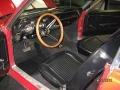 1968 Ford Mustang Black Interior Prime Interior Photo