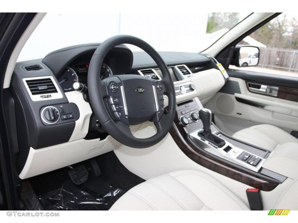 Ivory interior 2012 land rover range rover sport hse lux - 2012 range rover interior pictures ...
