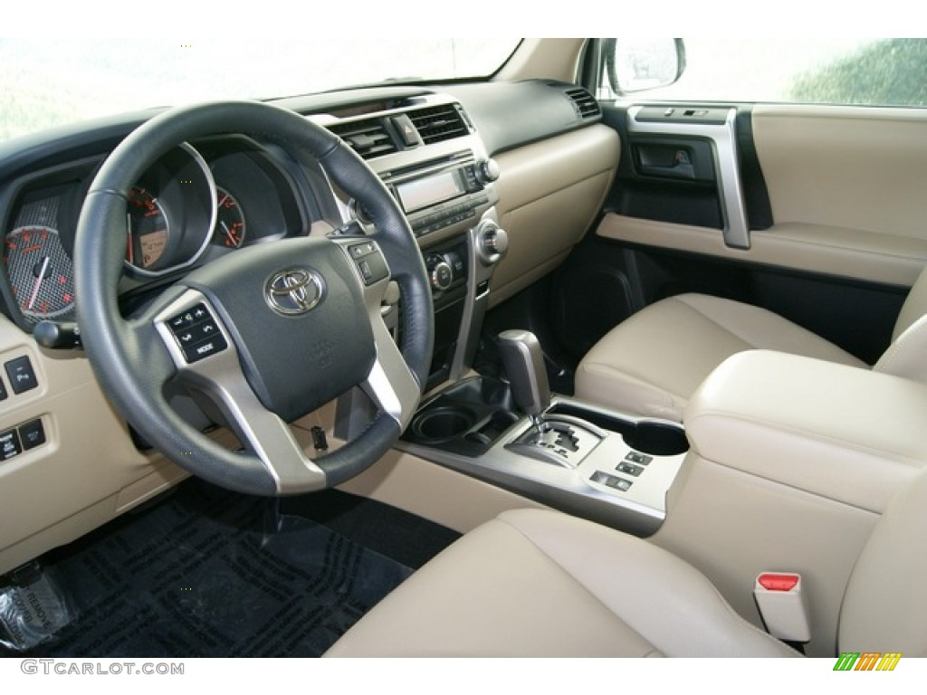 Sand Beige Interior 2010 Toyota 4runner Sr5 4x4 Photo