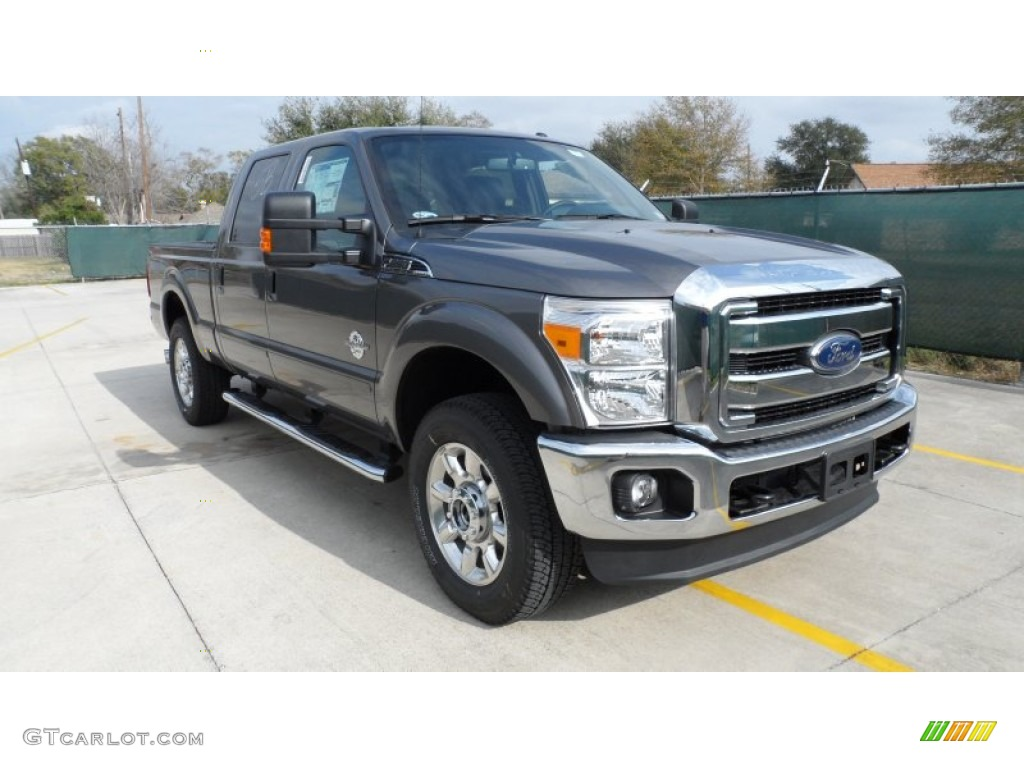 2012 sterling grey metallic ford f250 super duty lariat crew cab 4x4 59860012. Black Bedroom Furniture Sets. Home Design Ideas