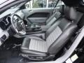 Black/Dove Accent Front Seat Photo for 2007 Ford Mustang #59948237