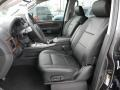 Charcoal 2012 Nissan Armada Interiors