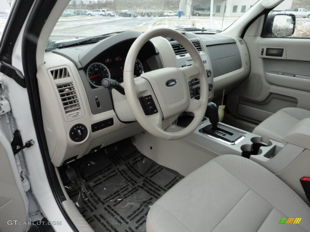 Stone Interior 2011 Ford Escape Xlt Photo 59954453