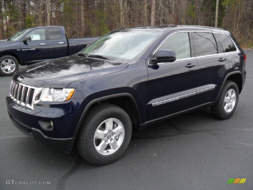 2012 jeep grand cherokee laredo true blue pearl color dark. Cars Review. Best American Auto & Cars Review