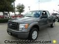 Sterling Gray Metallic 2012 Ford F150 STX SuperCab