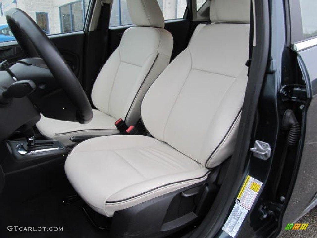Cashmere Charcoal Black Leather Interior 2011 Ford Fiesta Ses Hatchback Photo 59960282