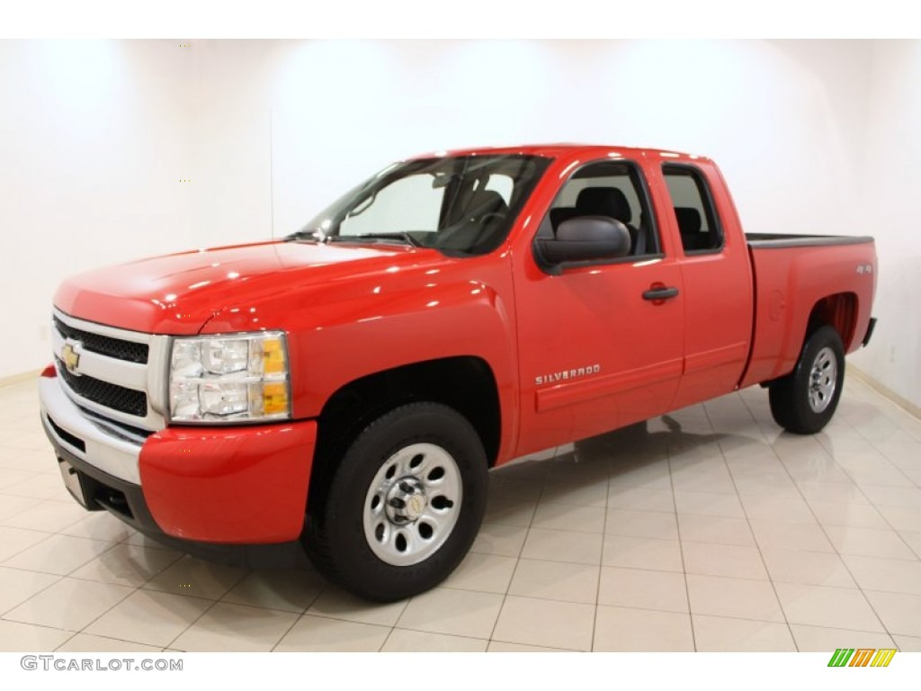 victory red 2011 chevrolet silverado 1500 lt extended cab 4x4 exterior photo 59960751. Black Bedroom Furniture Sets. Home Design Ideas