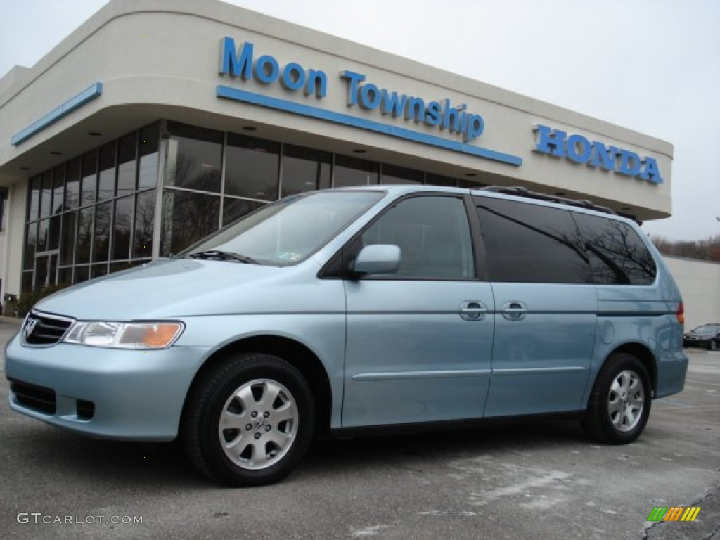 2003 havasu blue metallic honda odyssey ex l 59859953 car color galleries. Black Bedroom Furniture Sets. Home Design Ideas