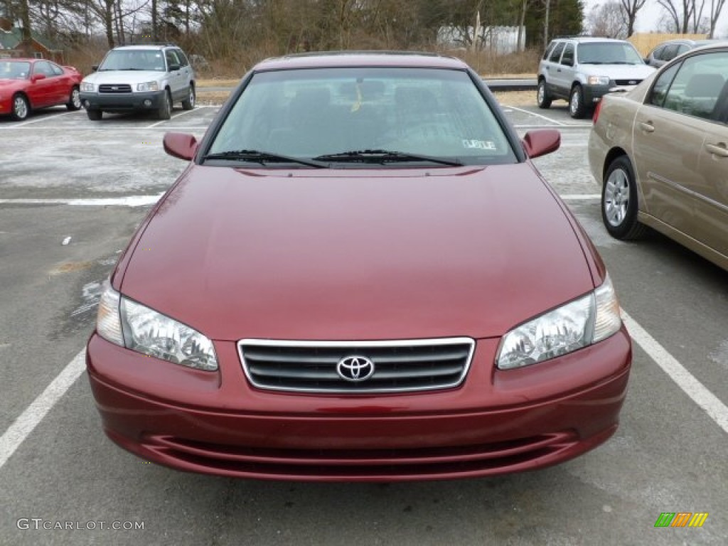 2001 Vintage Red Pearl Toyota Camry Le 59859238 Photo 2