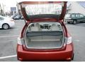 2009 Subaru Impreza Ivory Interior Trunk Photo