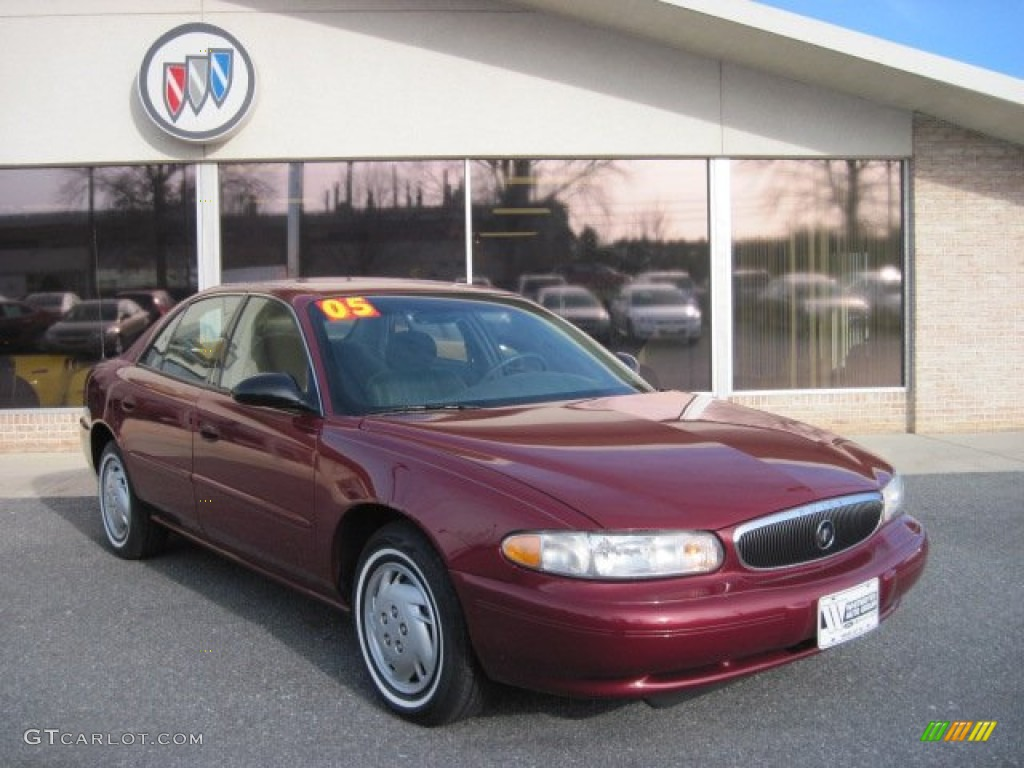 2005 cardinal red metallic buick century custom sedan. Black Bedroom Furniture Sets. Home Design Ideas