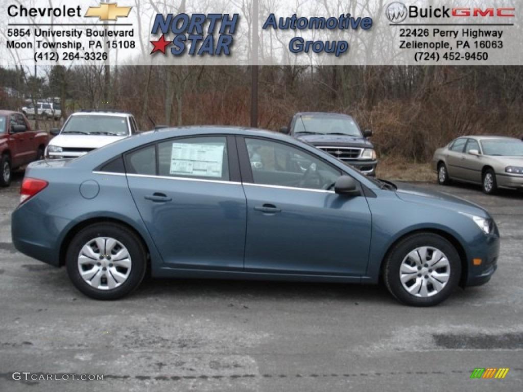 2012 Blue Granite Metallic Chevrolet Cruze LS #59859880 ...