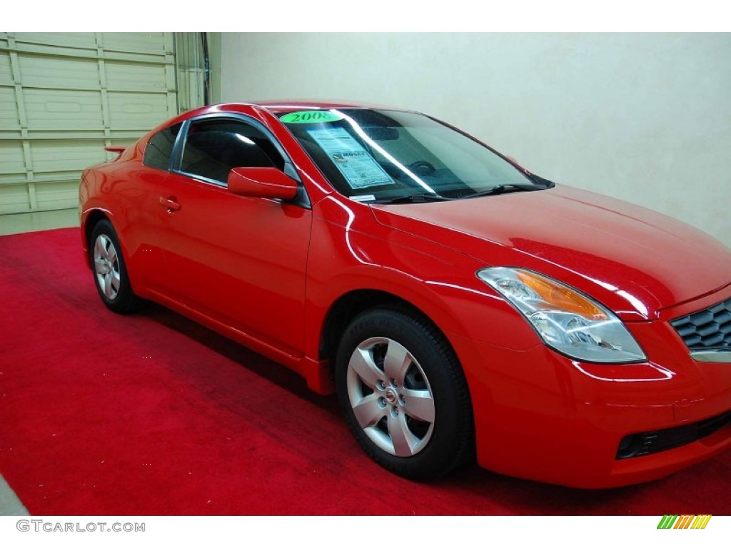 2008 code red metallic nissan altima 25 s coupe 59859809 2008 altima 25 s coupe code red metallic charcoal photo 1 vanachro Image collections