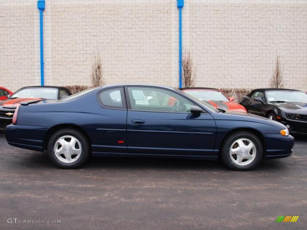2000 Navy Blue Metallic Chevrolet Monte Carlo Ss  59980959