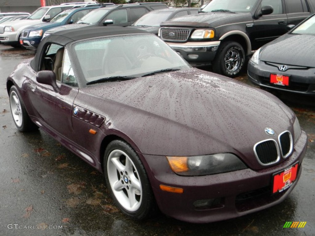 1997 Violet Red Bmw Z3 2 8 Roadster 59980950 Photo 2 Gtcarlot Com Car Color Galleries