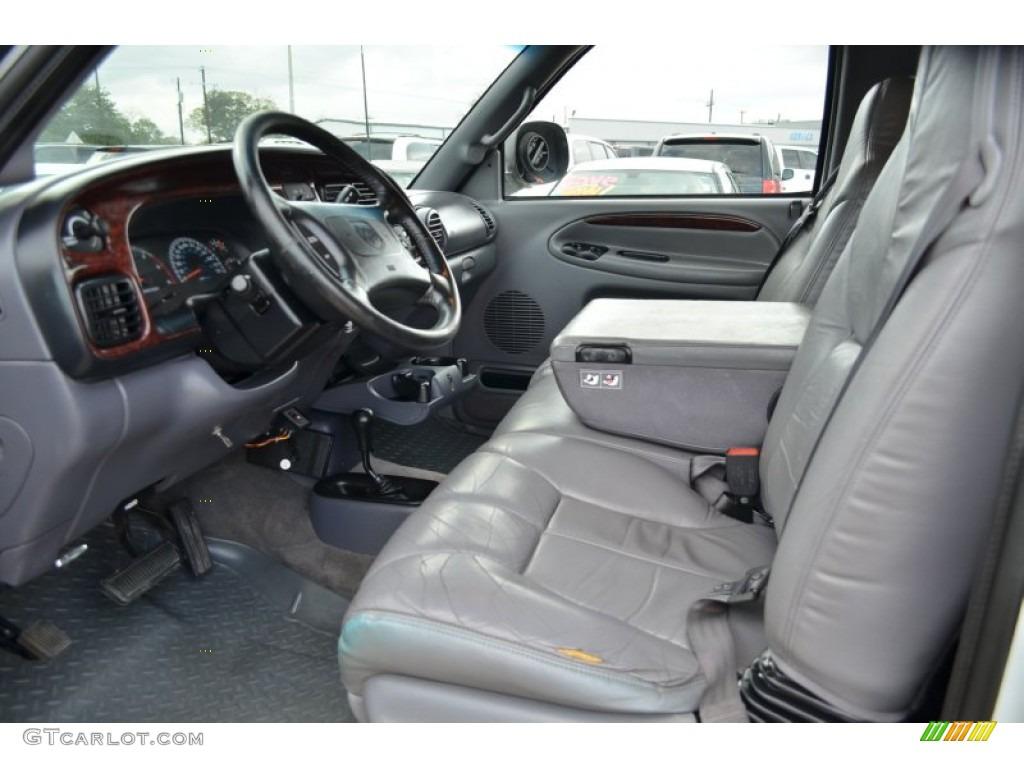 1998 Dodge Ram 2500 Laramie Extended Cab 4x4 Interior