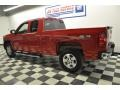 2009 Victory Red Chevrolet Silverado 1500 LT Extended Cab 4x4  photo #6